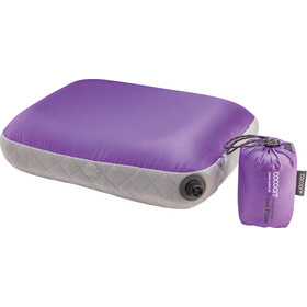 Cocoon Air Core Kussen Ultralight Standaard, purple/grey